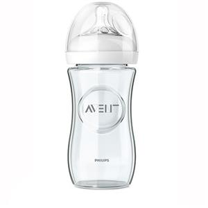Biberon Natural din sticla, Philips Avent 240 ml