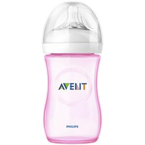 Biberon Natural Philips Avent, Roz 260 ml