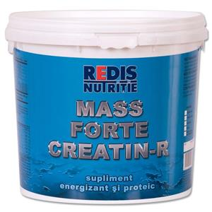 Mass Forte CREATIN-R, supliment energizant si proteic, Redis nutritie,  1000g