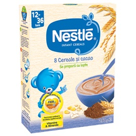 Nestle Cereale 8 Cerealesi cacao junior 12-36 luni 250 gr