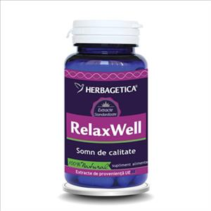 RelaxWell, Herbagetica, 60 cps
