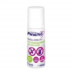 Roll-on repelent impotriva tantarilor si a capuselor , 60 ml